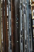 Belts in the shop — Stock Photo