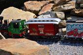 Children's railway — Stock Photo