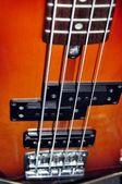 Gitarr och stråkar — Stockfoto
