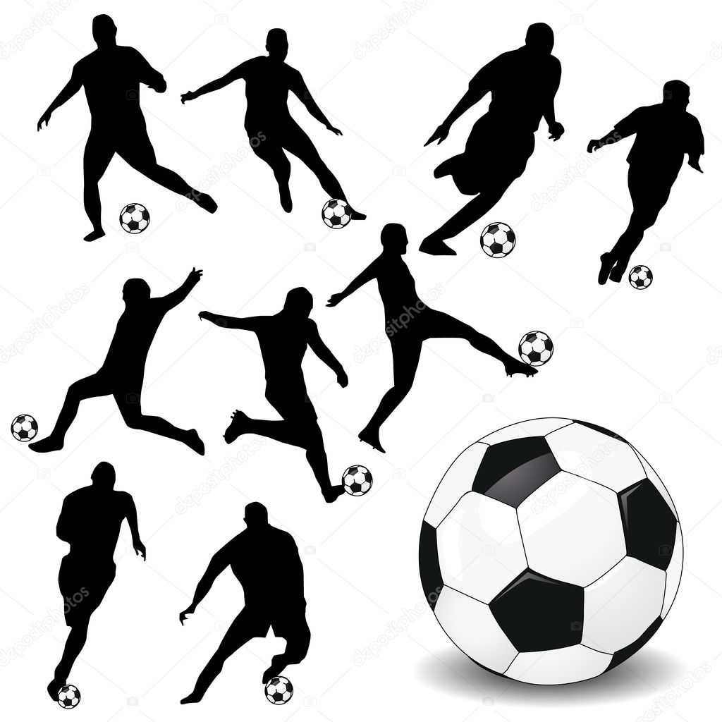 Soccer players — Stock Photo #6047548