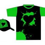 Stylish t-shirt design vector — Stock Photo #6077925