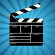 Royalty-Free Stock Photo: Movie clapper board