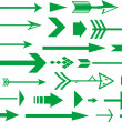 Lots of arrows vector illustration — Stock Photo #6473512