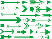 Lots of arrows vector illustration — Stock Photo