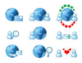 Web and internet icon — Stock Photo
