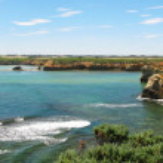 Panorama coast of australia — Stock Photo