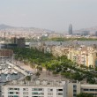 Cityscape of Barcelona — Stock Photo