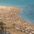 Stock Photo: City beach of barcelona