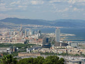 Barcelona cityscape — Stock Photo