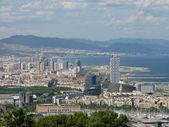 Barcelona cityscape — Zdjęcie stockowe