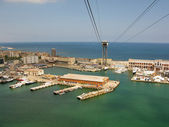 Port Vell harbor area — Stock Photo
