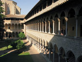 Monastary of pedralbes — Stock Photo