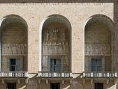 Santa Maria de Montserrat, portal — Stock Photo