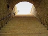 Treppe zum himmel — Stockfoto