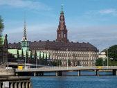 кристиансборга дворец копенгаген, фолькетинг — Стоковое фото