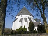 Round church bornholm — Стоковое фото