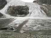 Sulzenauferner glacier in the stubai alps — Stock Photo