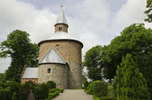 Bjernede round church — Stock Photo