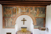 Church frescos — Stock Photo