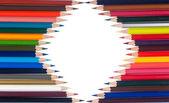 Kolorowanie kredkami — Zdjęcie stockowe