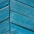 Stock Photo: Blue wall of an old house