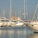 Yachts in Palma de Majorca — Stock Photo