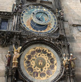 Praga clock — Stock Photo