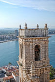 Peñiscola tower of church — Stock Photo