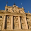 Royal palace in Madrid - Foto Stock