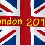 London 2012 flag — Stock Photo #6678583