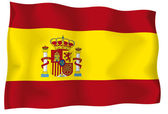 Spain flag 2 — Stock Vector