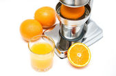 Orange fresh juice — Stock Photo