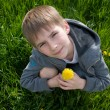Boy with dandelion — Stock Photo #5966724