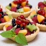 Sweet fruit dessert — Stock Photo #6076578