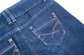 Modern Blue Jeans — Stock Photo