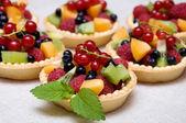 Sweet fruit dessert — Stock Photo