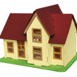 Colorful wooden house — Stock Photo