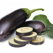 Stock Photo: Ripe aubergine
