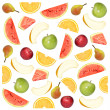 Fruity background — Stock Photo