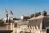 The roofs of Paris — Stock Photo