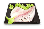Pangasius fish fillets — Stock Photo
