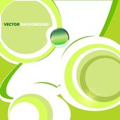 Green vector background — Stock Photo