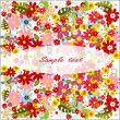 Summer flower background — Stock Photo