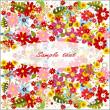 Summer flower background — Stock Photo