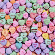 Candy hearts — Stock Photo #6015384