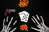 Dead mans hand — Stock Photo