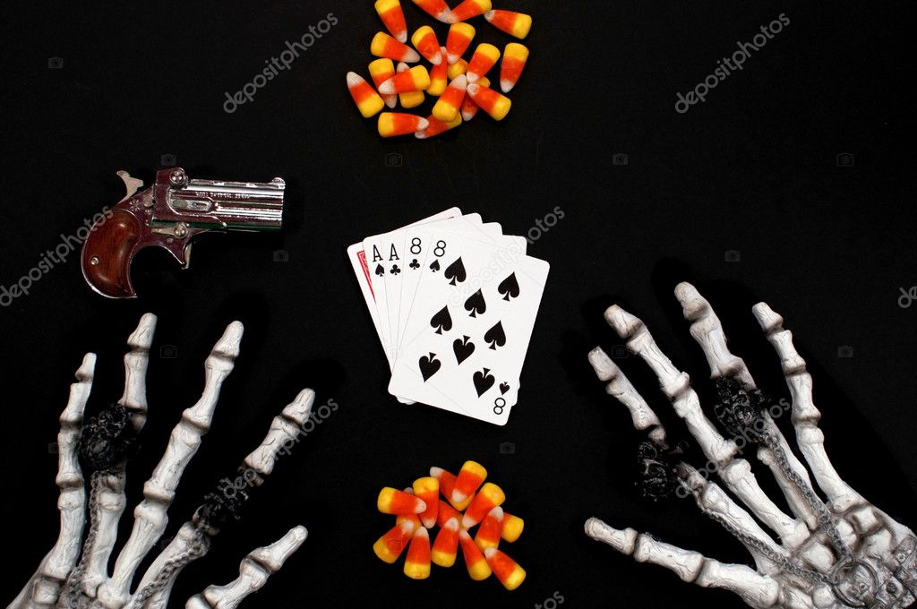 aces and eights poker burn and turn in poker