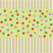 Flower seamless pattern in vector — Stock Vector