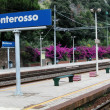 Monterosso railway station, Cinque Terre, Italy — Stock Photo #5985276