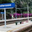 Monterosso railway station, Cinque Terre, Italy — Stock Photo